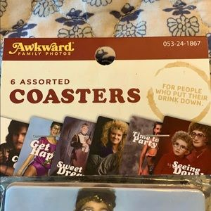 Urban Outfitters Hilarious Coaster Set
